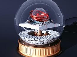 C4D水晶球:crystal_ball