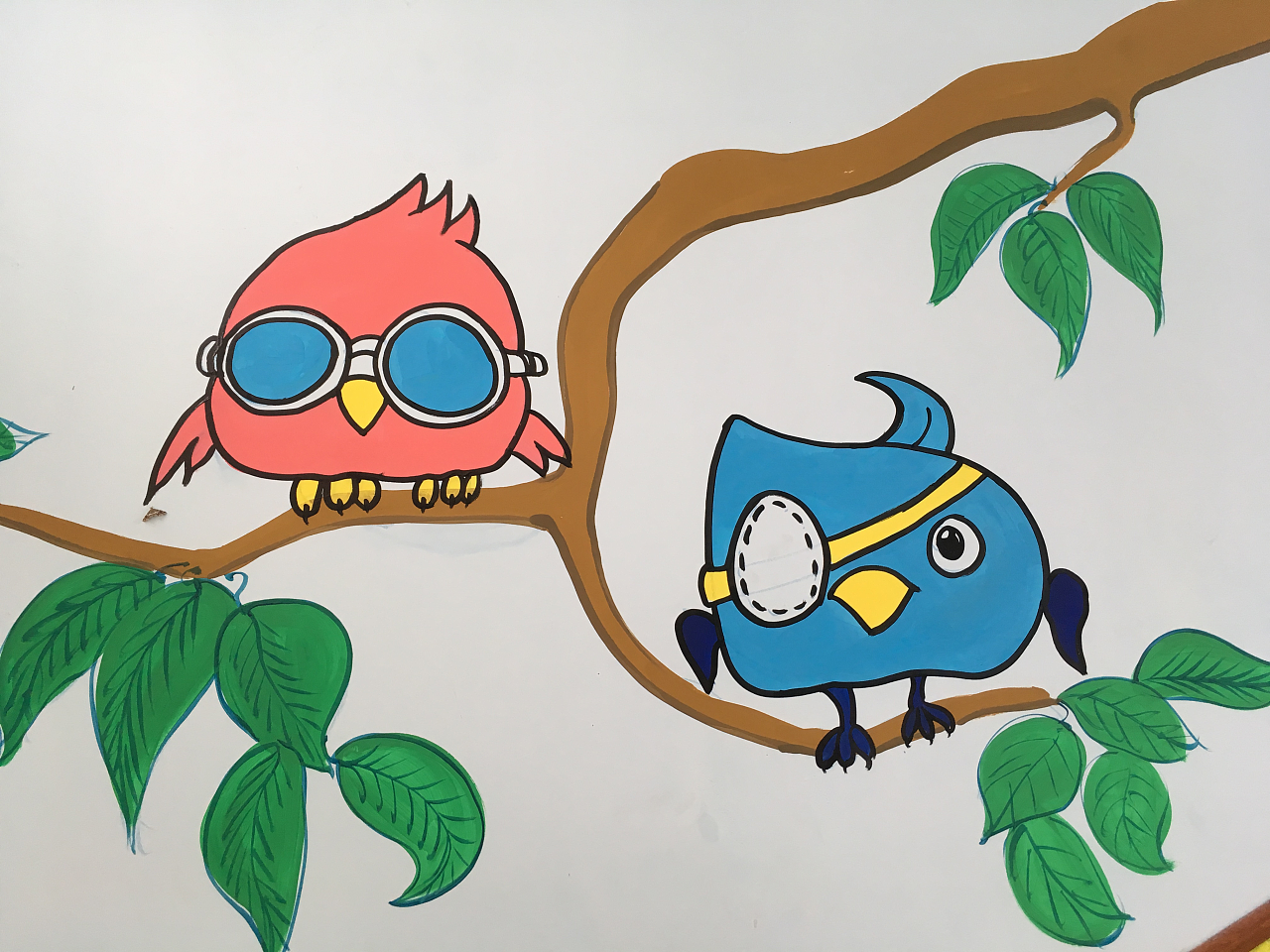 幼儿园手绘