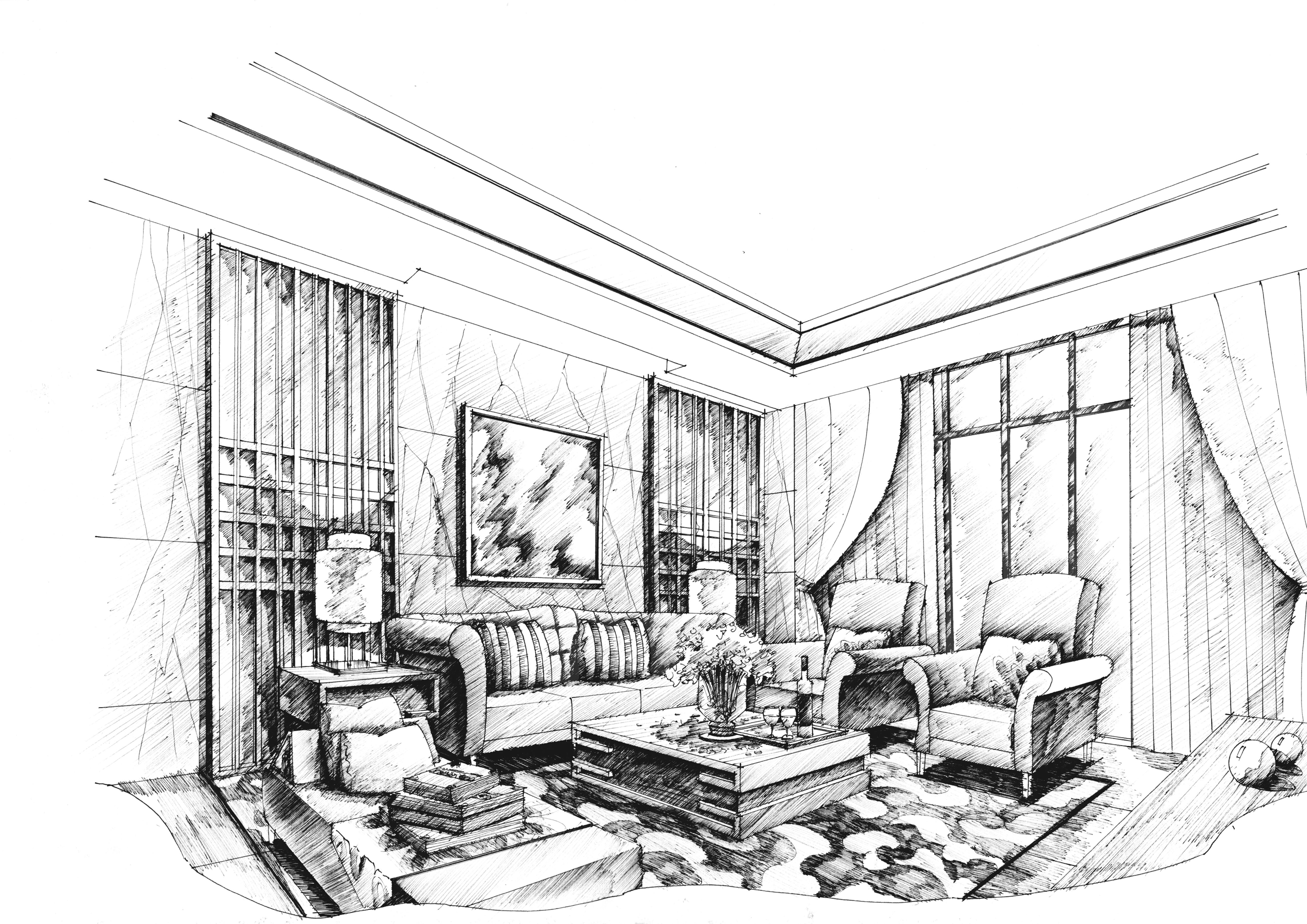 客厅效果图