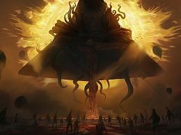 个人世界观系列之一:古神的祭祀。