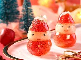 圣诞海报拍摄 · 糖抱抱 丨©冰川摄计