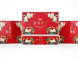 高鹏设计——来伊份好运福蛋节礼食品包装设计