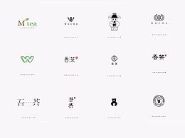 茶快饮店logo
