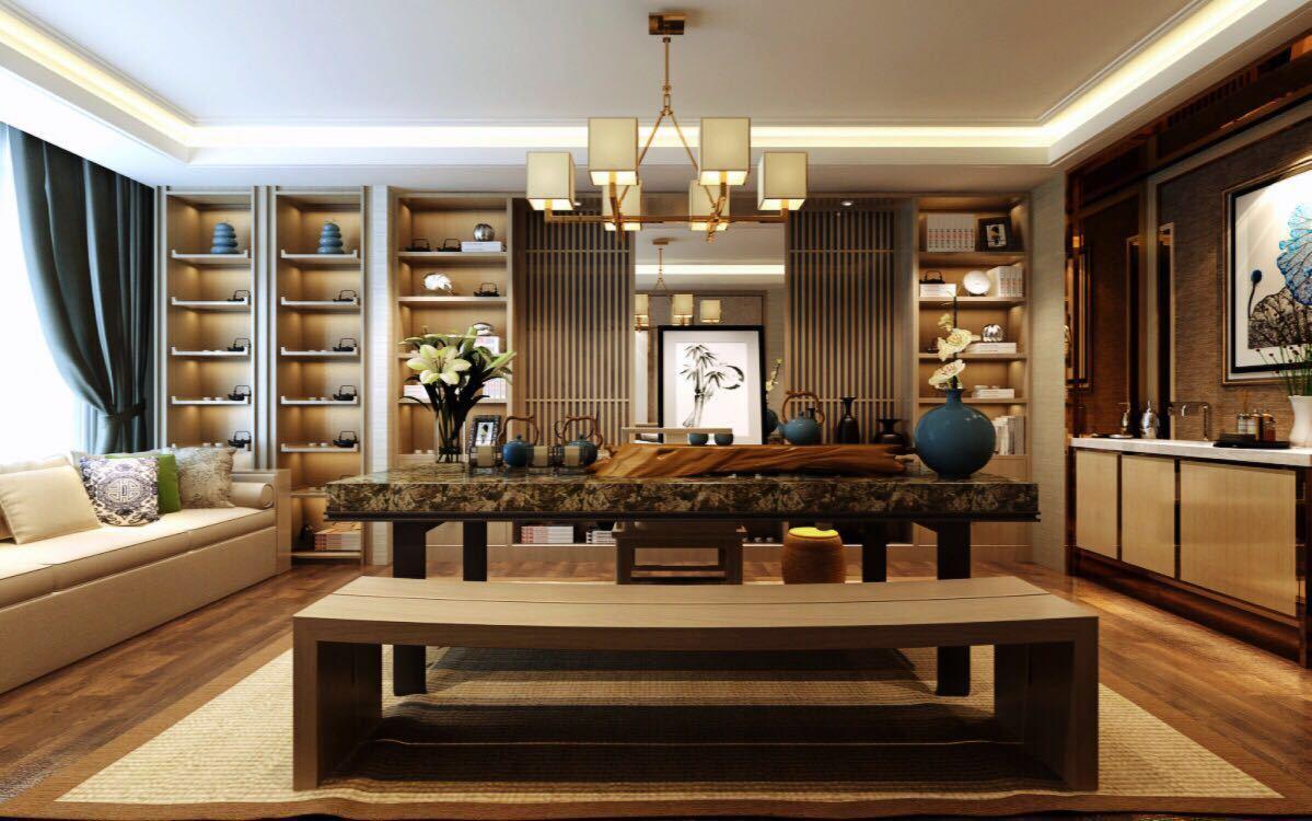大连岚帝设计|新中式风格||空间|室内设计|岚帝国际