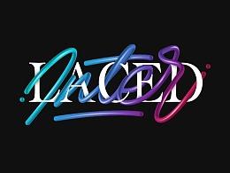 多彩艺术交织字体教程