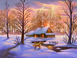 美丽风景画