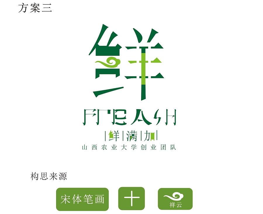 西农业大学创业团队logo设计