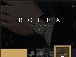 ROLEX WEB REDESIGN