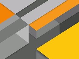 Material Design 橙灰