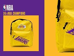 NBA 冠军展衍生品设计——湖人队 & 76人队