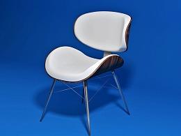 C4D椅子建模练习
