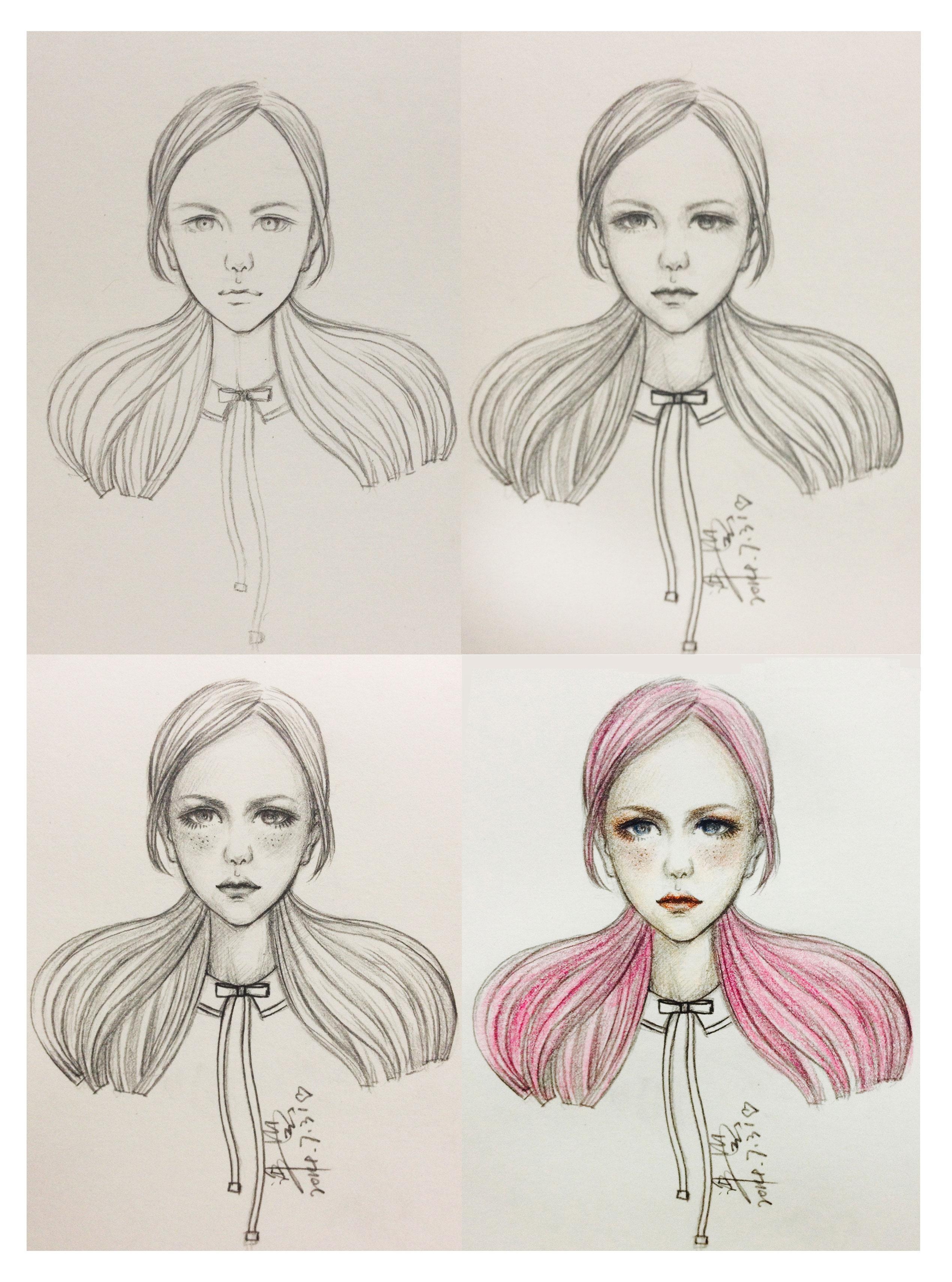 雀斑女孩2化妆