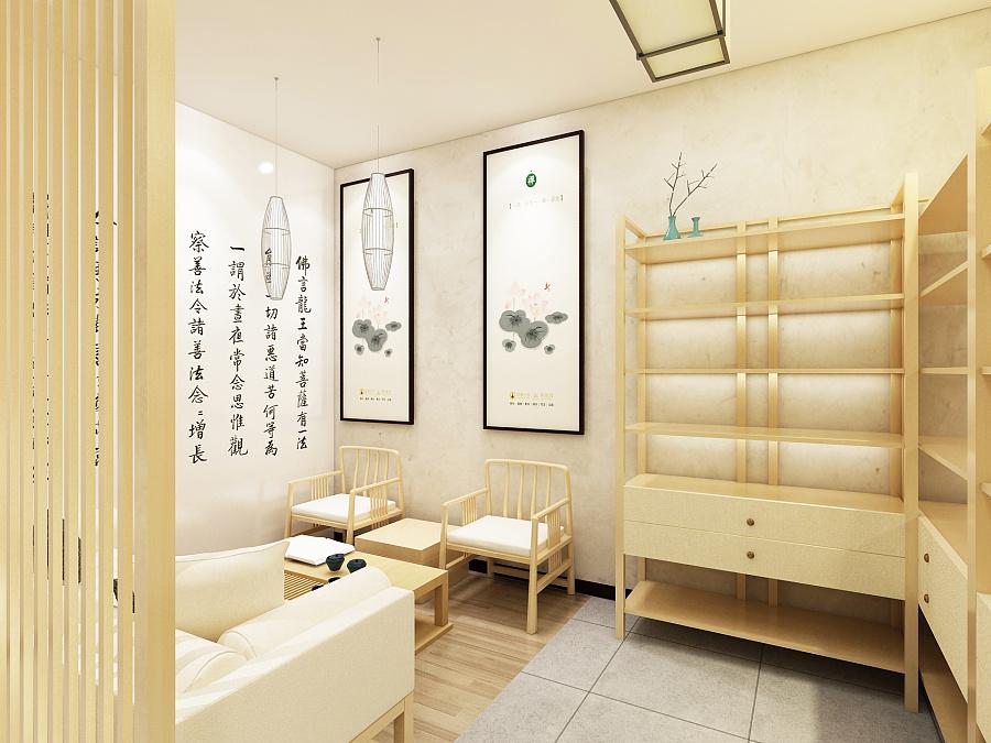 新中式风格空间|室内设计|禅意/建筑|铭与高端v风格设计师ui清水图片