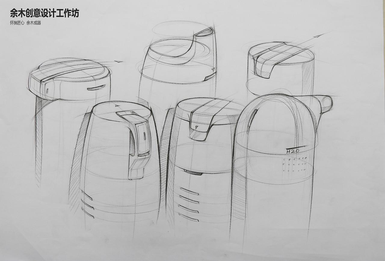 2017余木创意学员产品手绘作品