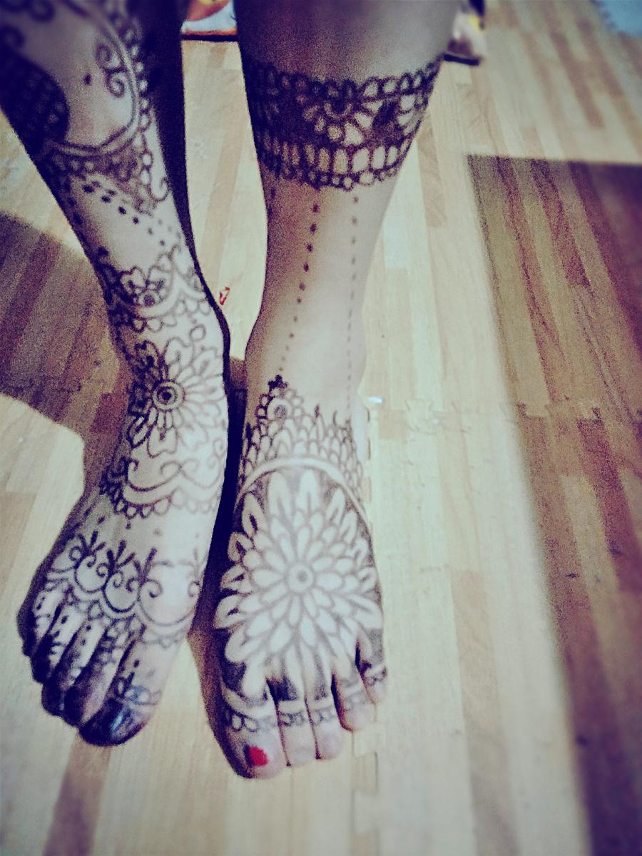 印度海娜手绘|其他艺创|纯艺术|curry