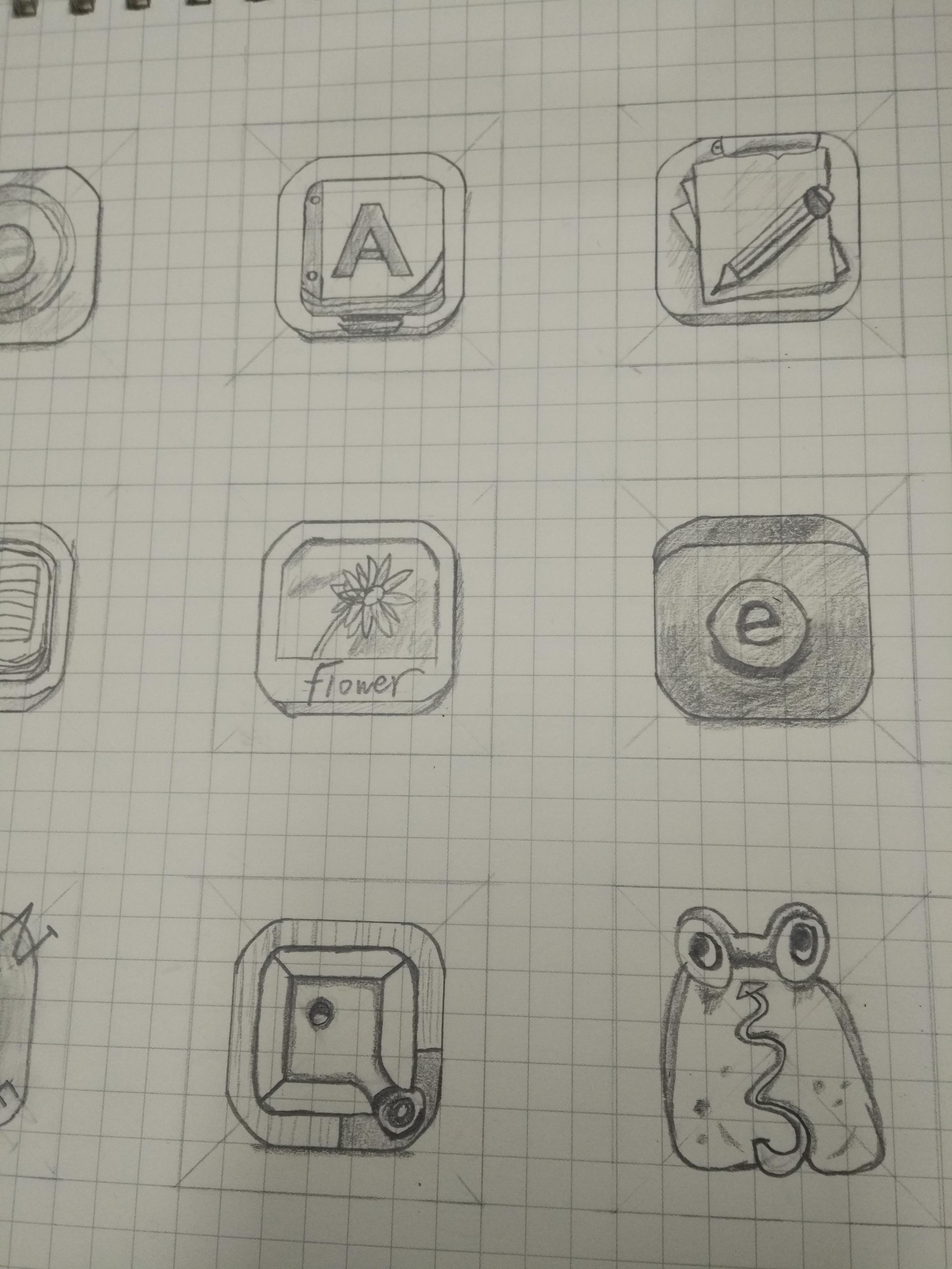 手绘简单图标|ui|图标|wszkl - 原创作品 - 站酷