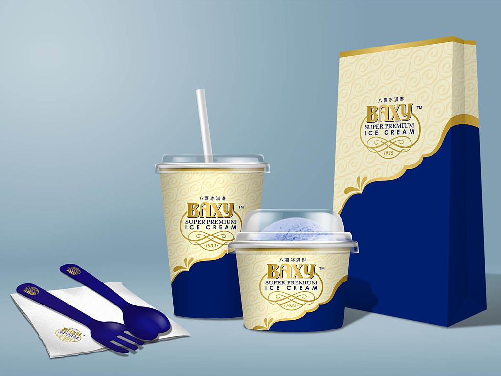 冰淇淋包装图片