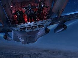 电影《空天猎》概念设计图