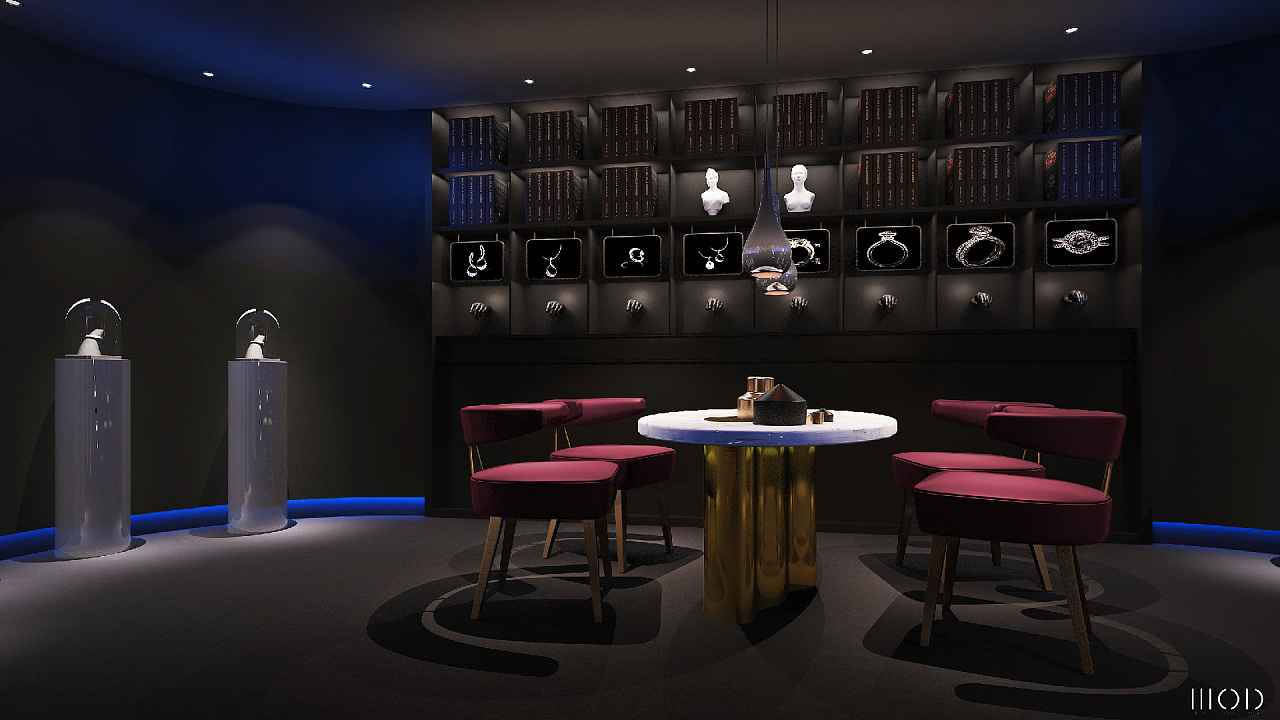 clare&yung 珠宝店空间设计图片
