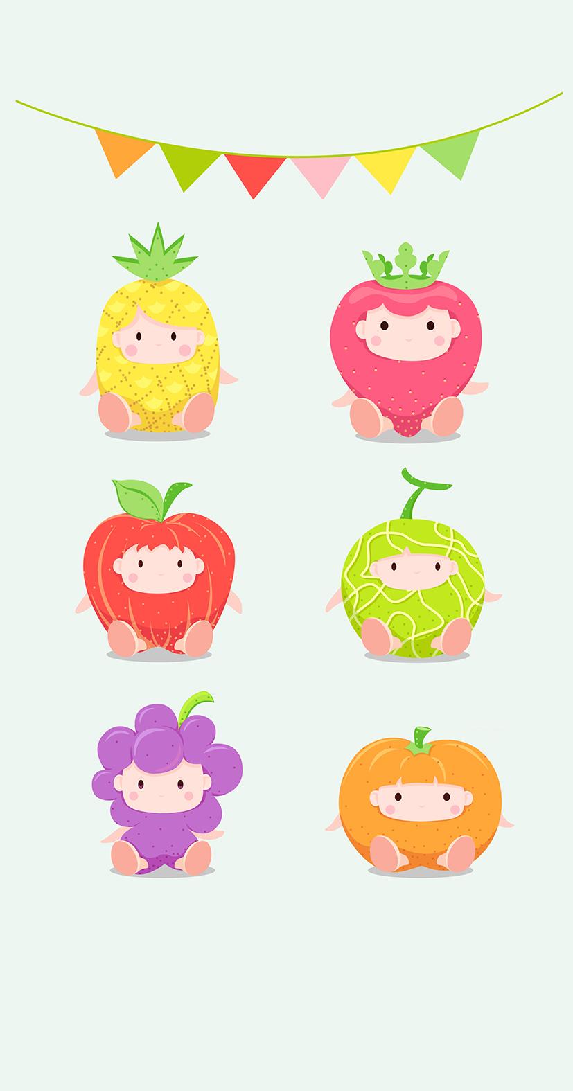 水果卡通形象