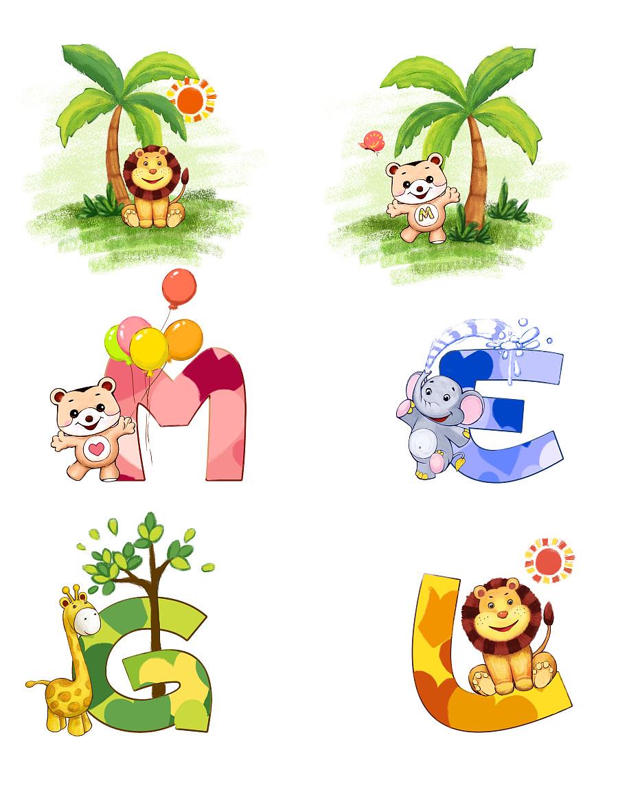 原创作品:童装插画设计图片