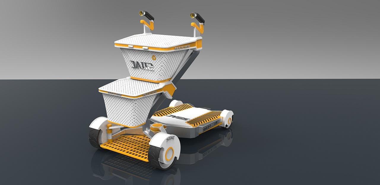 产品设计(智能购物车)图片