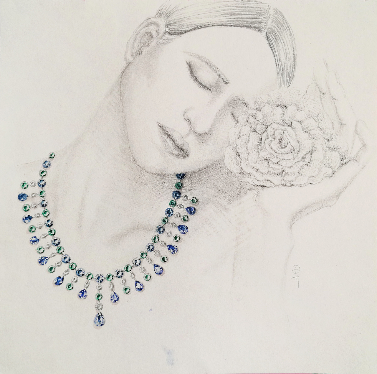 人像&珠宝手绘