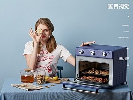 ACA烤箱模特拍摄