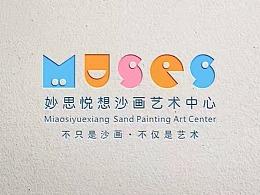 妙思悦想沙画艺术中心LOGO设计——金与彥设计