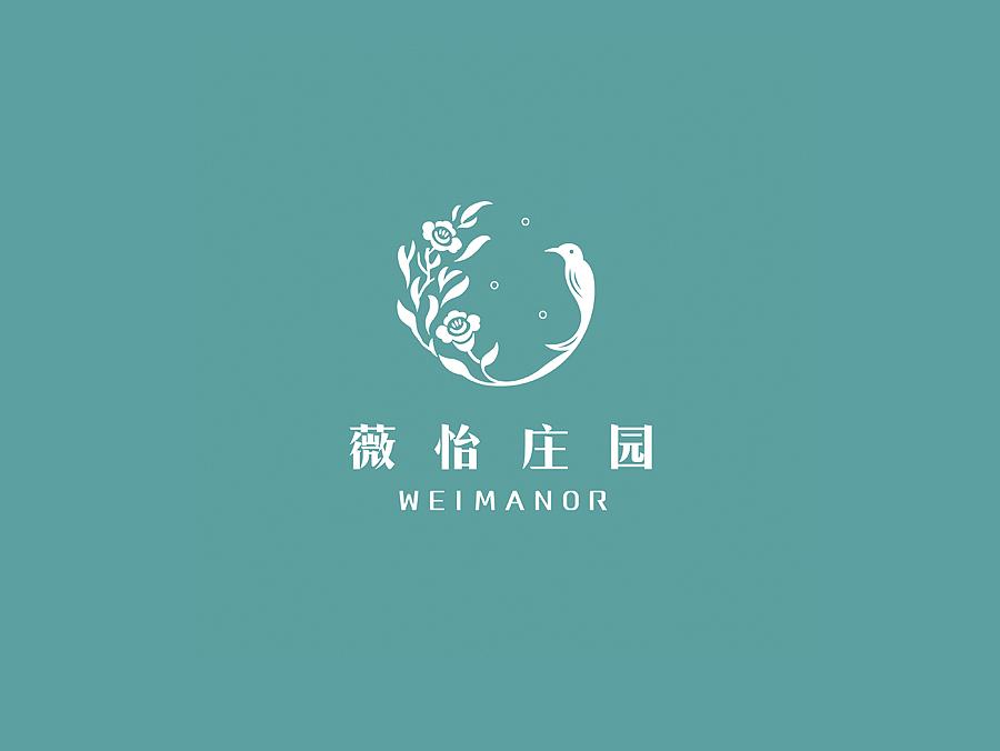 薇怡庄园logo设计(客户案例)|平面|标志|叁十 - 原创图片