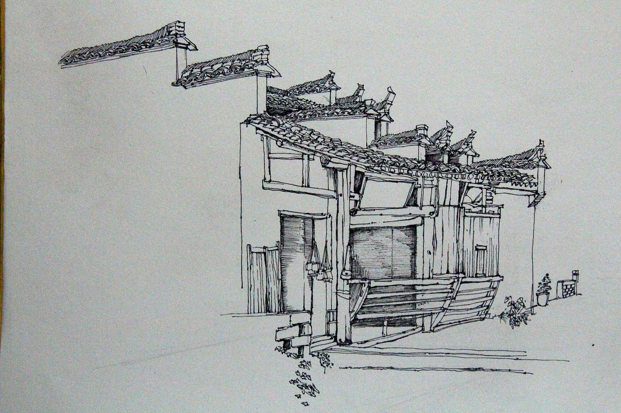结构素描针管笔