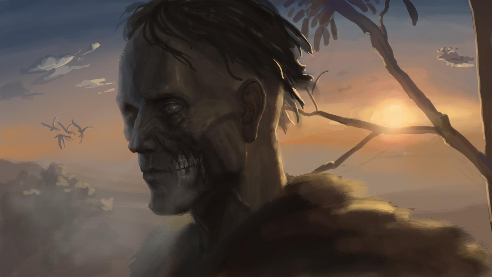 梦到祖先变成了僵尸,并且自己在位僵尸祖先换衣服.怎么解梦呢?