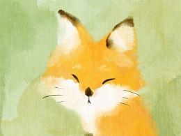 橘子味儿的小狐狸