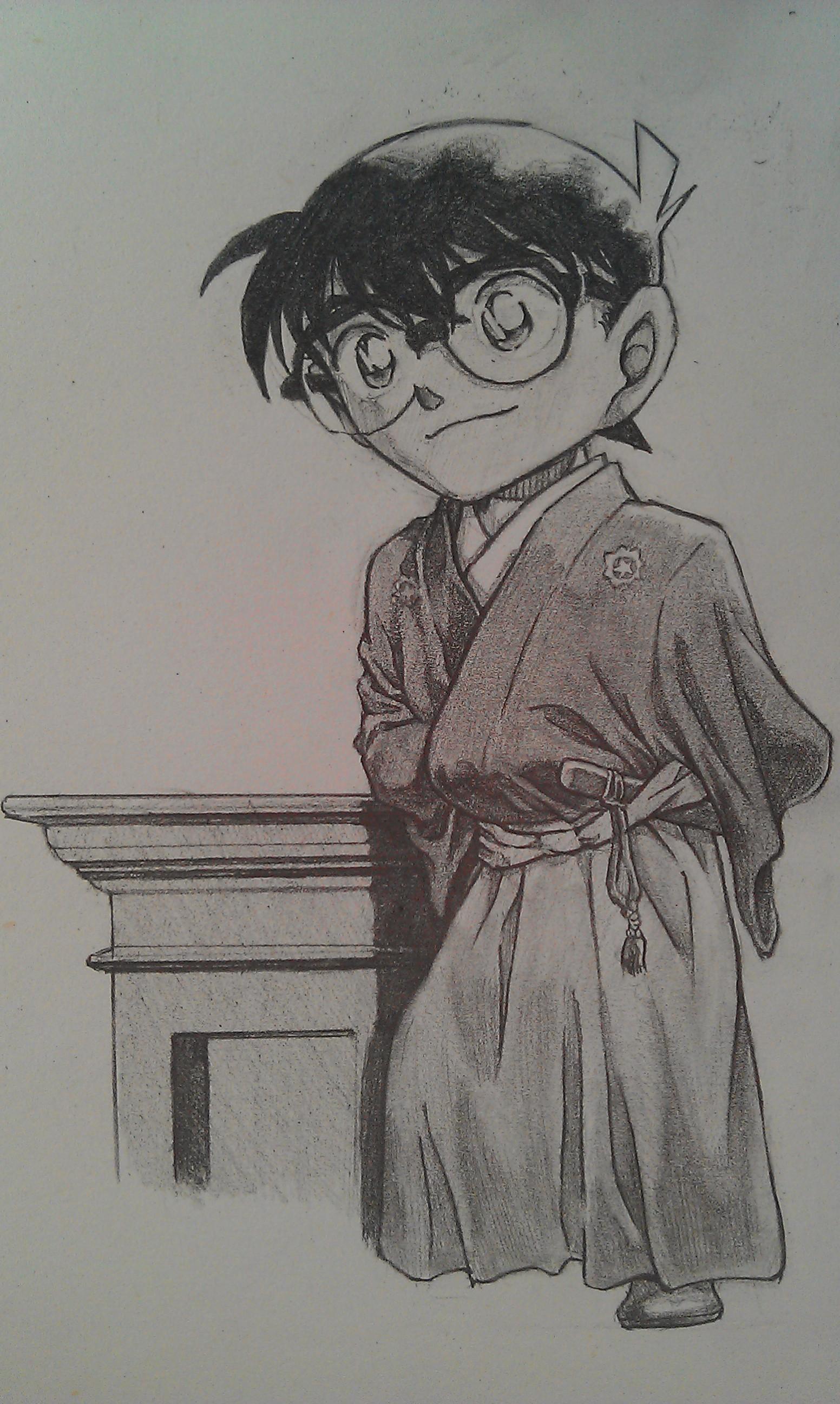 漫画人物(铅笔)