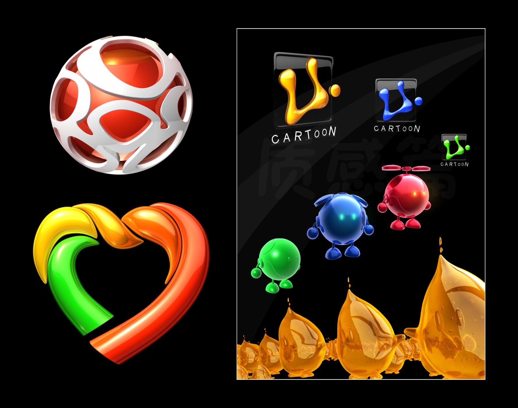 logo|三维|动画/影视|双升小双 - 原创作品 - 站酷图片