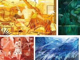 第六届Hiii Illustration国际插画评审奖《我的世界》