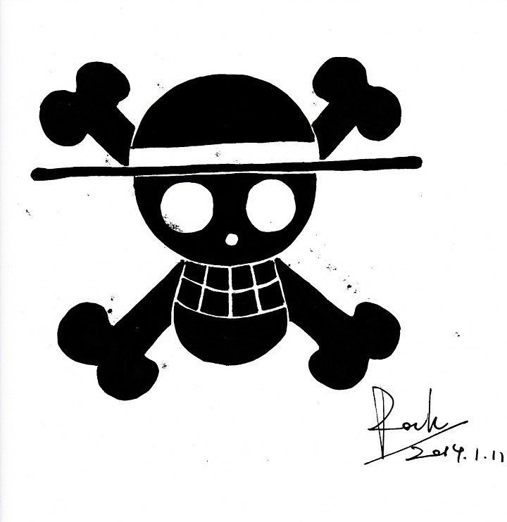 海贼王劳的标志_海贼王OP极简LOGO|平面|图案|bhsfrock - 原创作品 - 站酷 (ZCOOL)