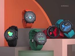 【智能手表集合】产品视觉动画——巨人谷制作