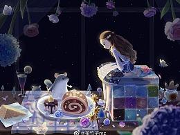 龙猫猫和甜点