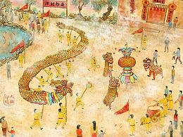 非物质文化遗产-泮村灯会