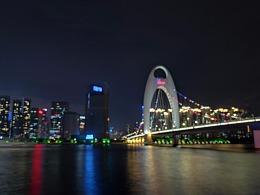 广州珠江旁手机随拍,致那年7月。