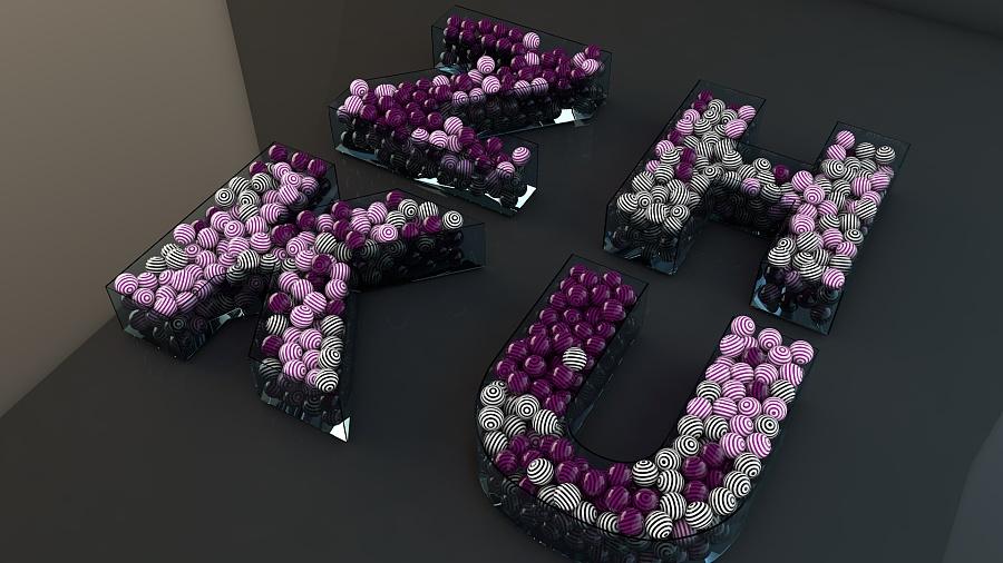 【C4D】三维缩写|其他英文|三维|齐木楠雄-原柜子弧形设计图图片