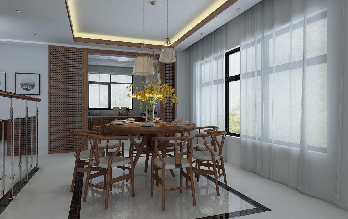 新中式别墅图片