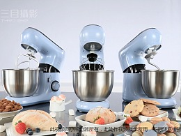 触动你的少女心 | 小熊公主蓝厨师机【三目摄影作品】