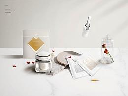 MIINJEJO美人制造铂金礼盒护肤品包装设计