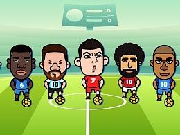 2018俄罗斯世界杯 创作球迷专用表情