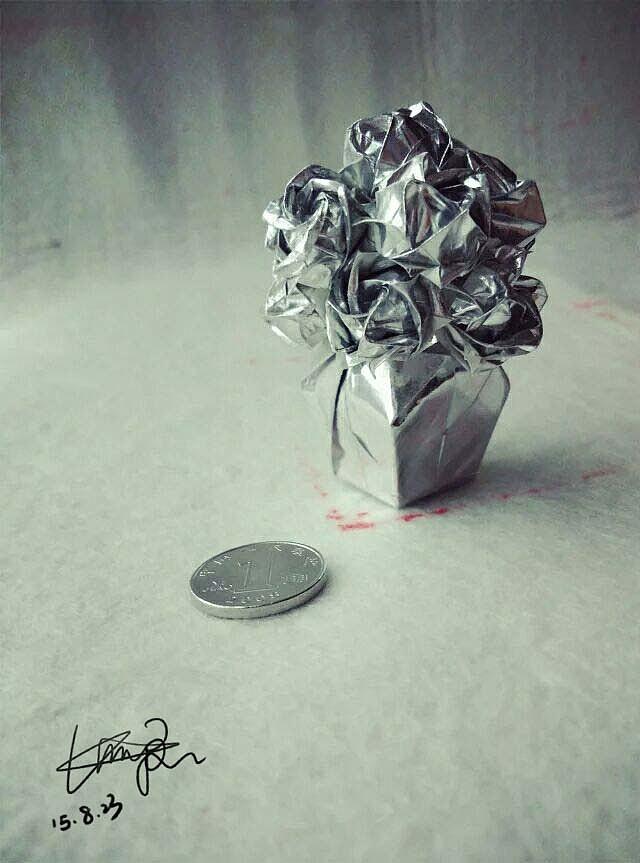 折纸 川崎玫瑰图片