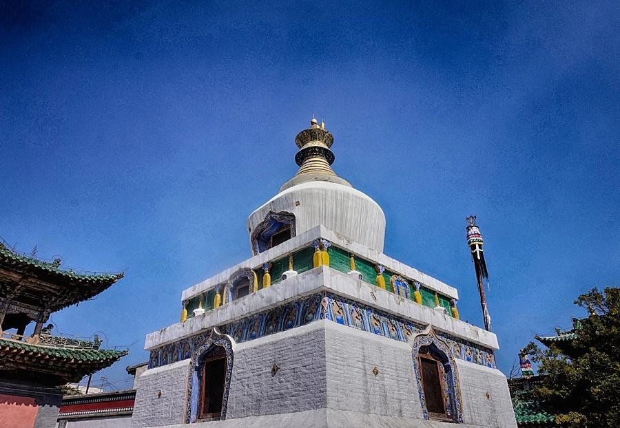 西宁塔尔寺:莲花山上有净土|风光|摄影|大狮子