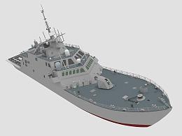 自由级濒海战斗舰模型优化