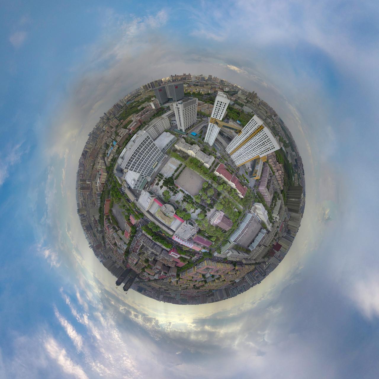 哈尔滨师范大学 航拍 小行星合集图片